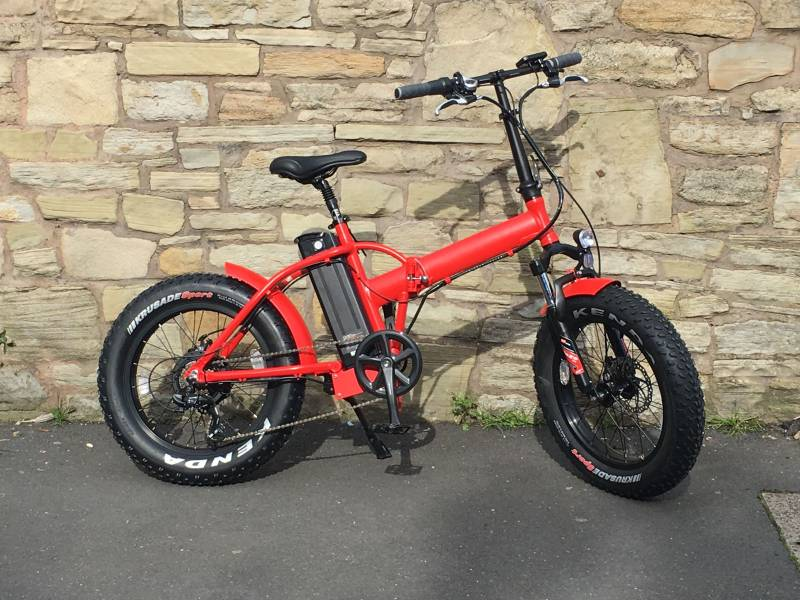 Folding Electric Fatbike Bicycle For Sale Pedelecs