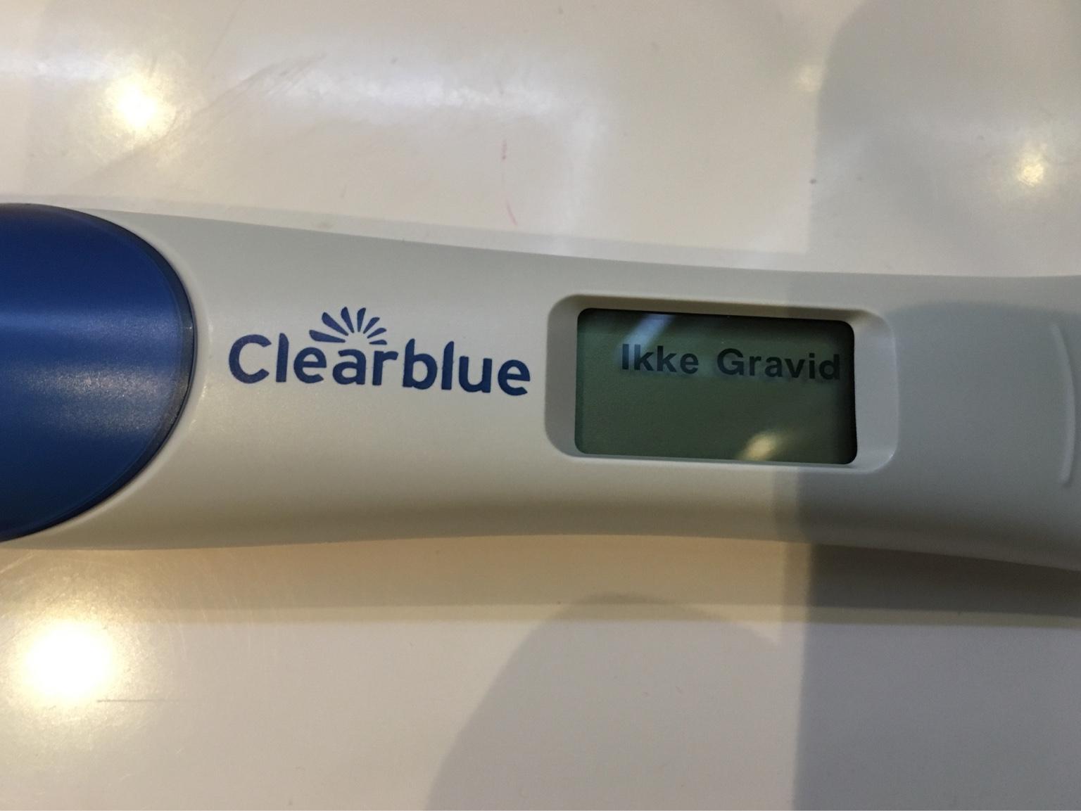 ikke gravid
