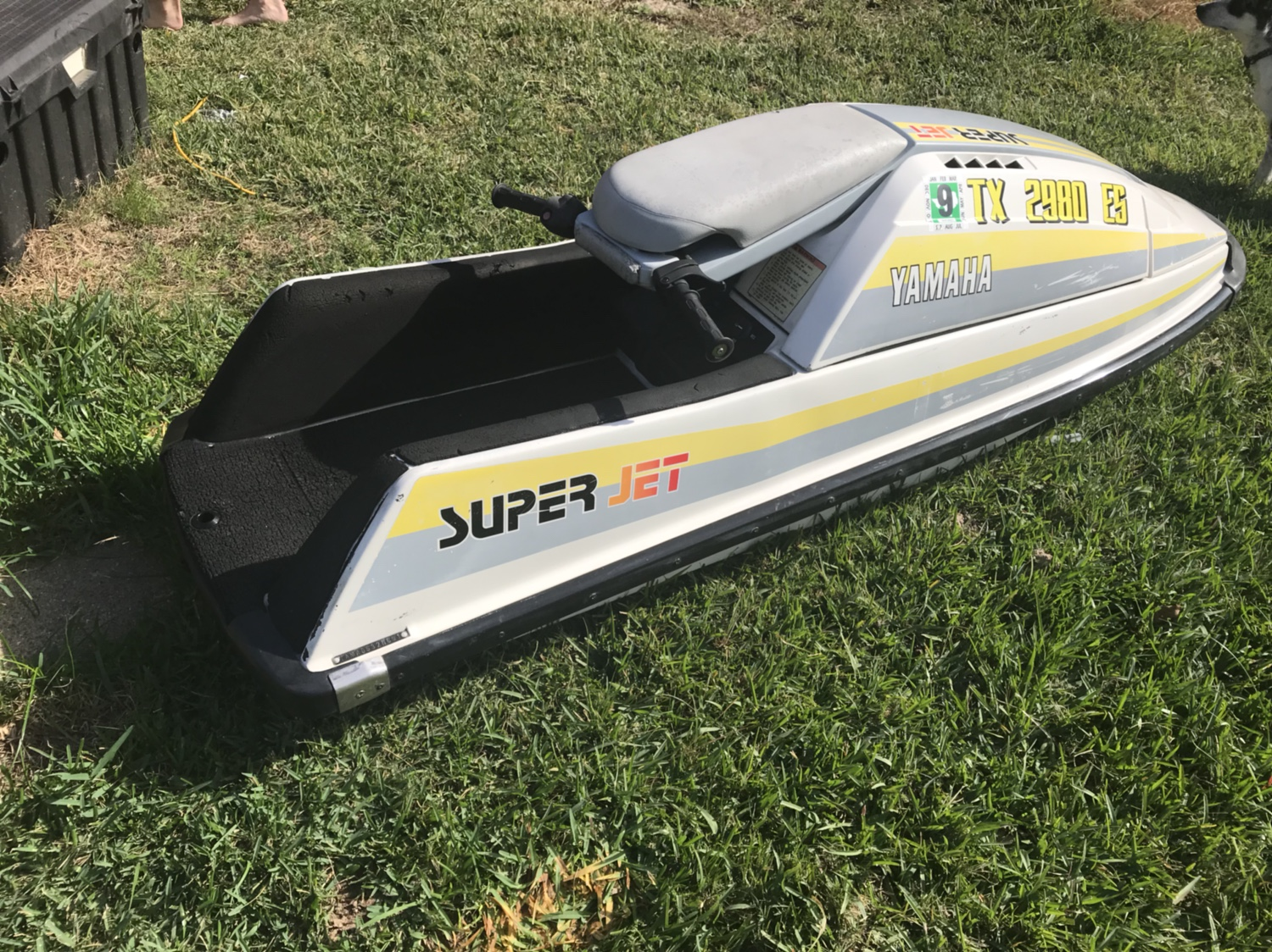 Bone Stock 1991 Superjet Runs And Registered Till 2019 Clean Ski Only Selling Because I Upgraded