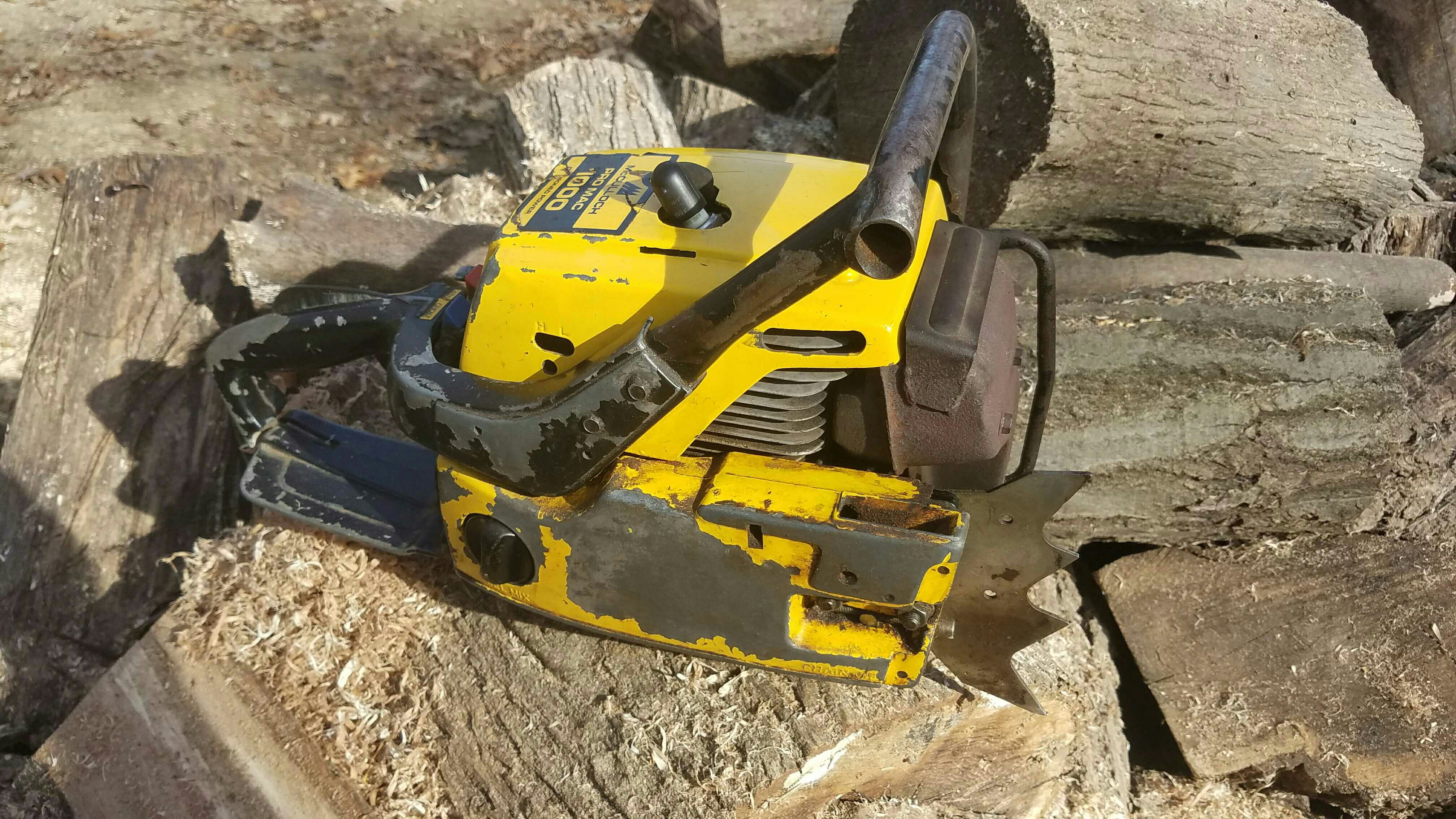 SELLING - Mcculloch Pro Mac 1000 | Outdoor Power Equipment Forum