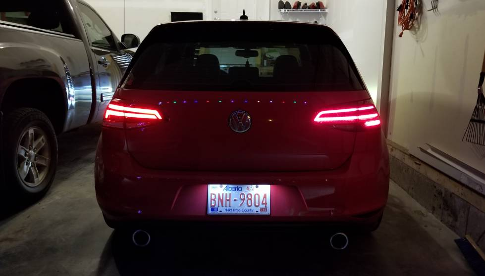 Vwvortex Com Na Mk7 5 Tail Lights W Adapter