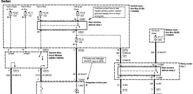 Rear Defroster Problem