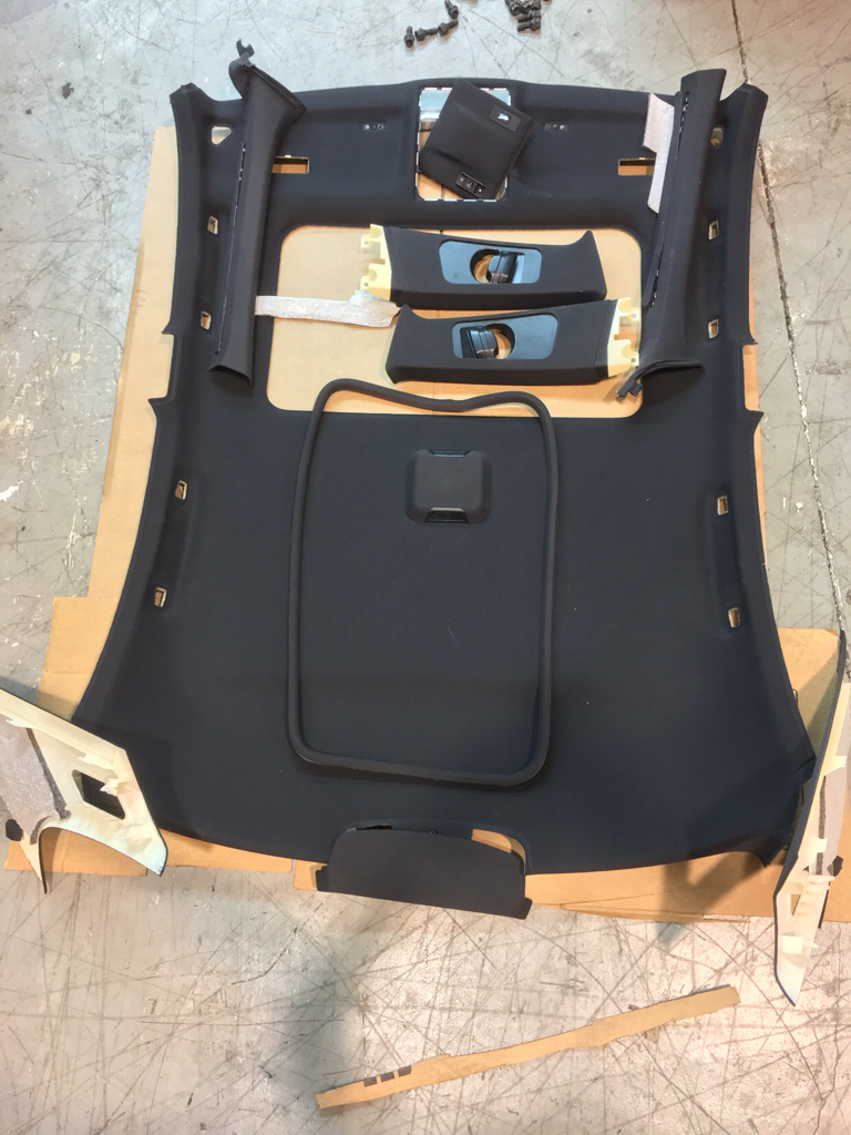 Oem Zhp Sedan Headliner B And C Pillars