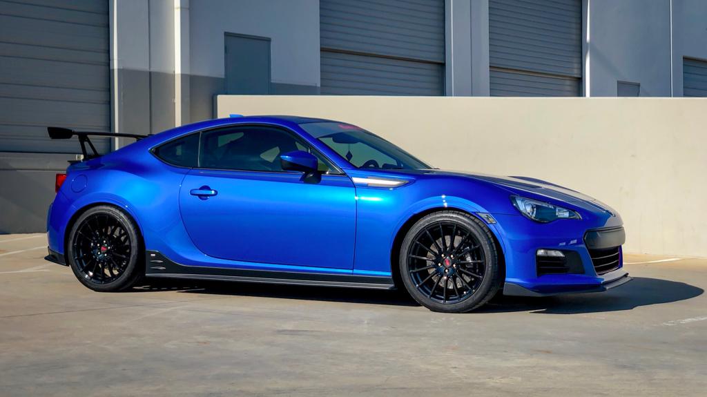 Subaru brz build