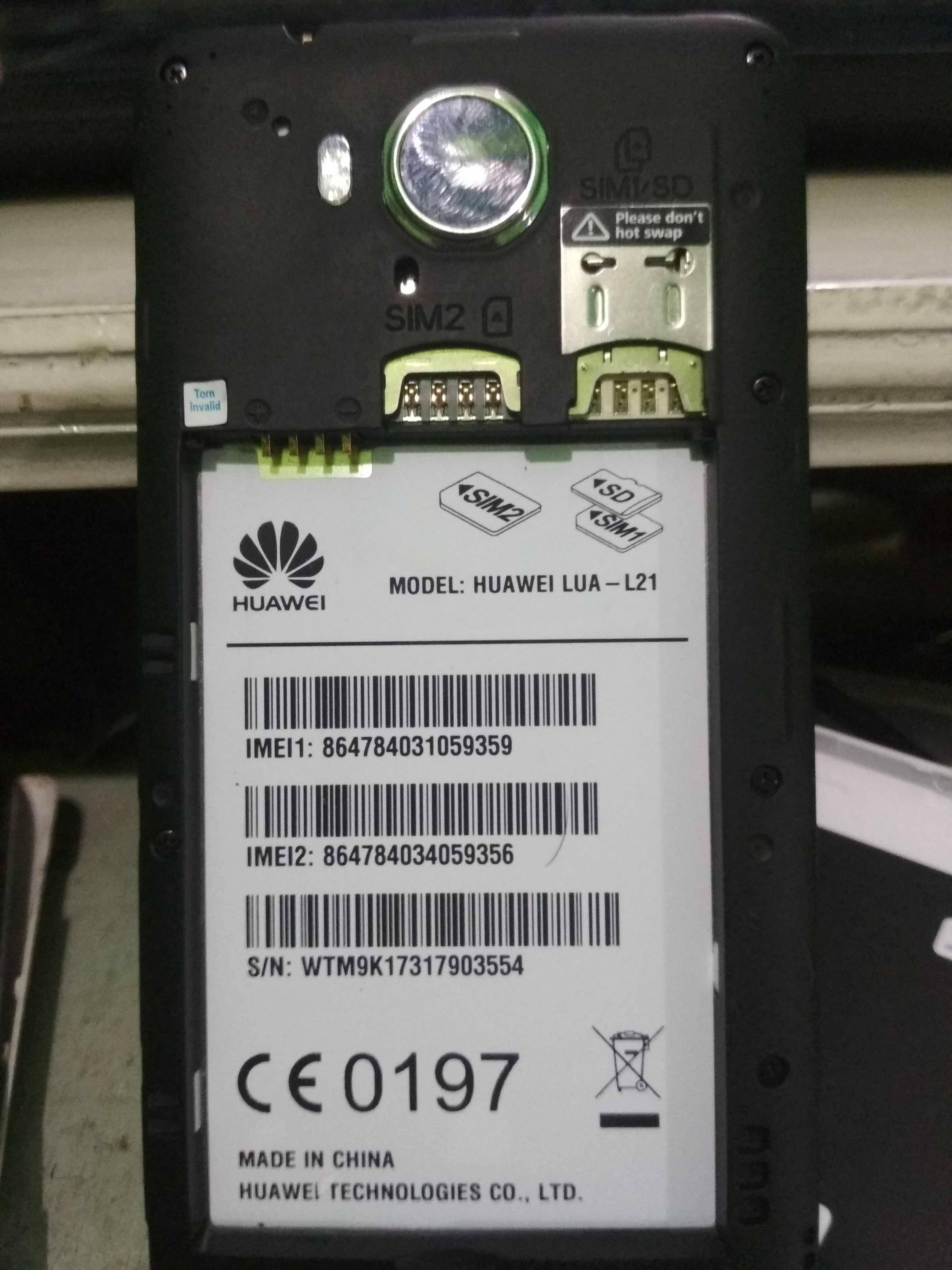 Huawei lua-L21 dead suddenly