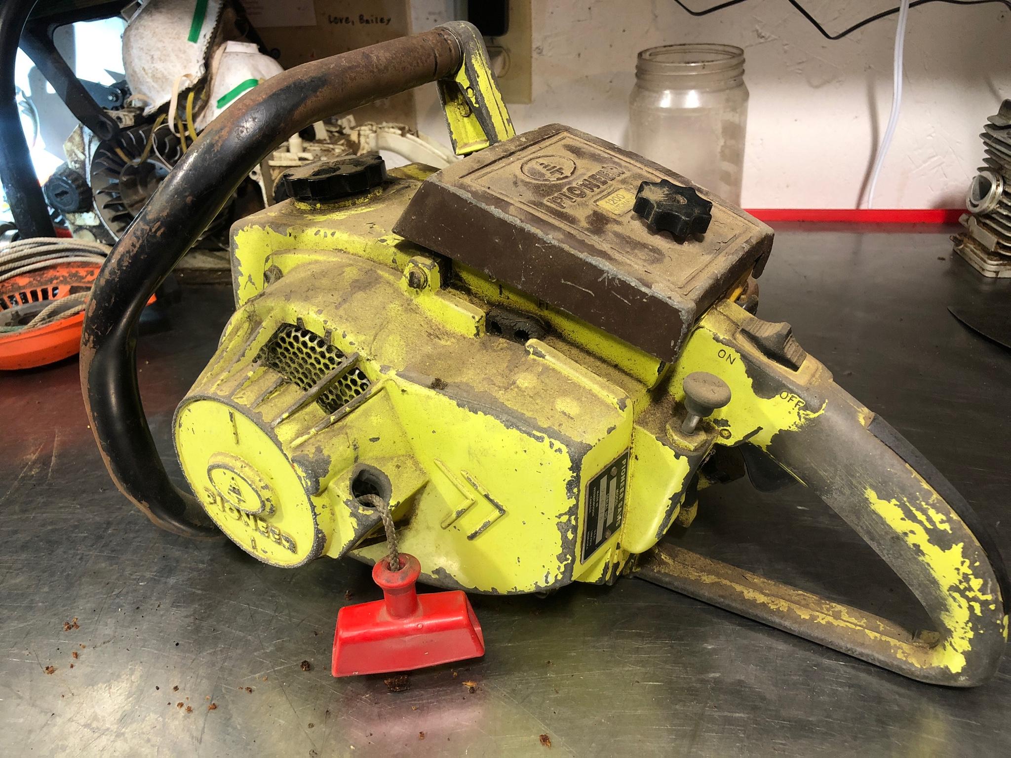 pioneer 01200a chainsaw parts diagram - HD2048×1536