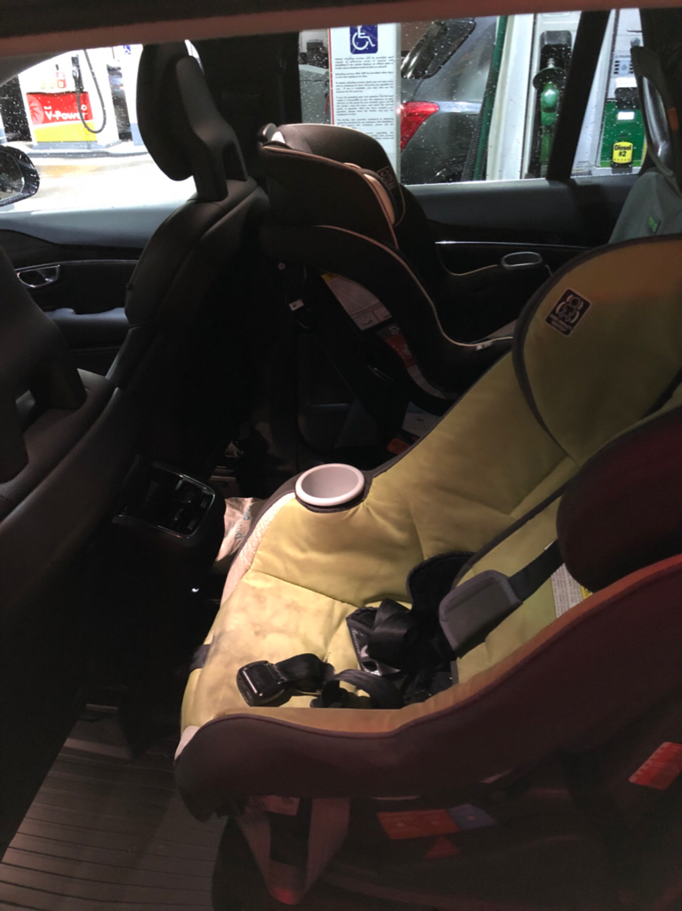 Pictures Of Car Seats Installed