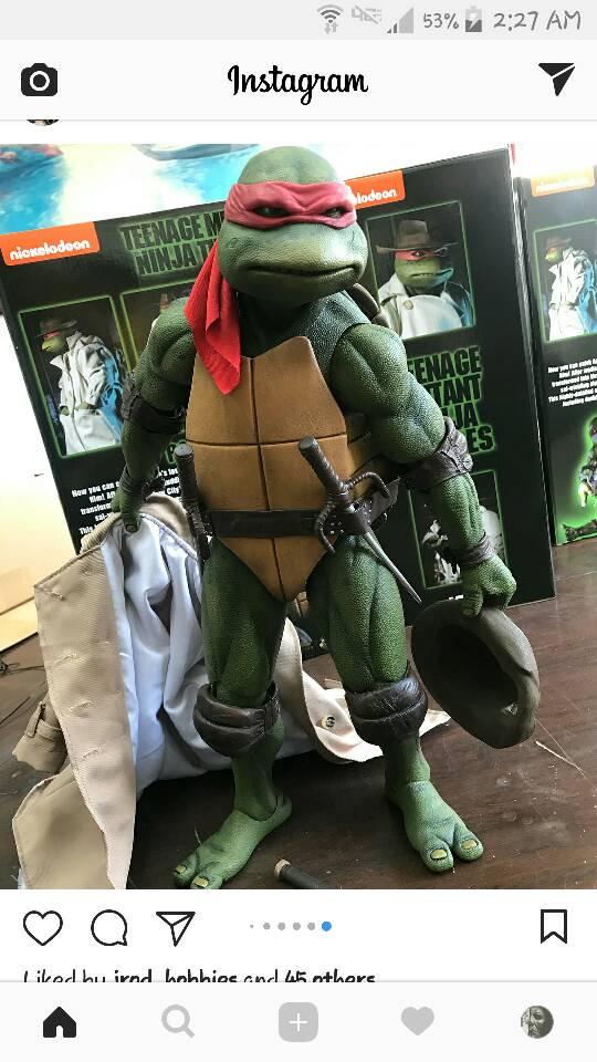 NECA 40040 Scale TMNT 400990's Turtles Page 8408 Amazing Neca 1 4 Display Stand
