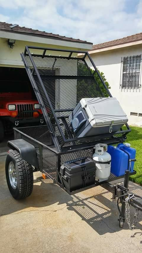 Overland Offroad Trailer Input Wanted Using Lowe S 4x6
