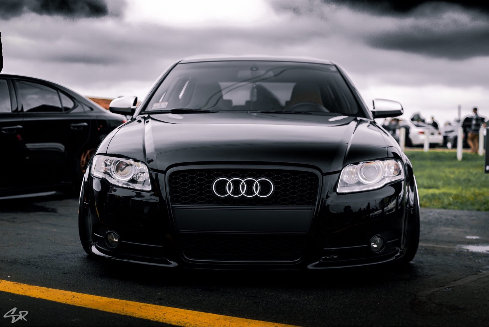audi a4 b7 bagged wide body. Black Bedroom Furniture Sets. Home Design Ideas