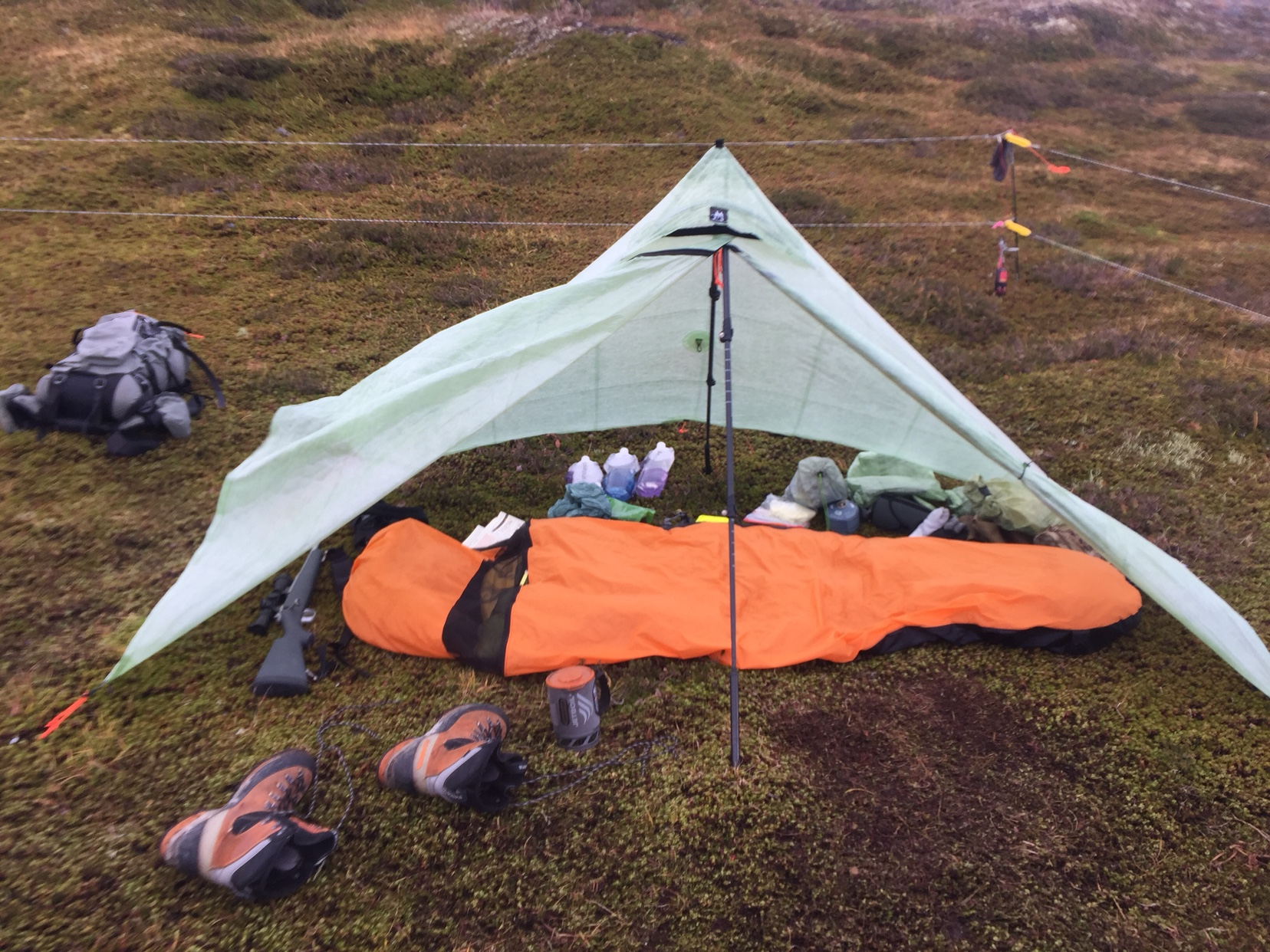 & Strongest/windproof one man tent?