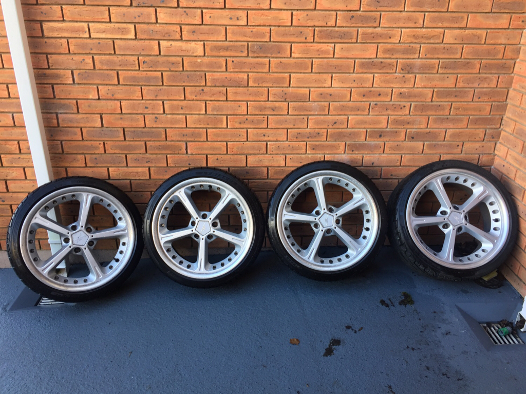 For Sale 19 Ac Schnitzer Wheels With New Tyres