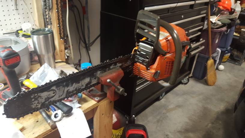 AUCTION: Rebuilt and Ported Husqvarna 359 | Outdoor Power