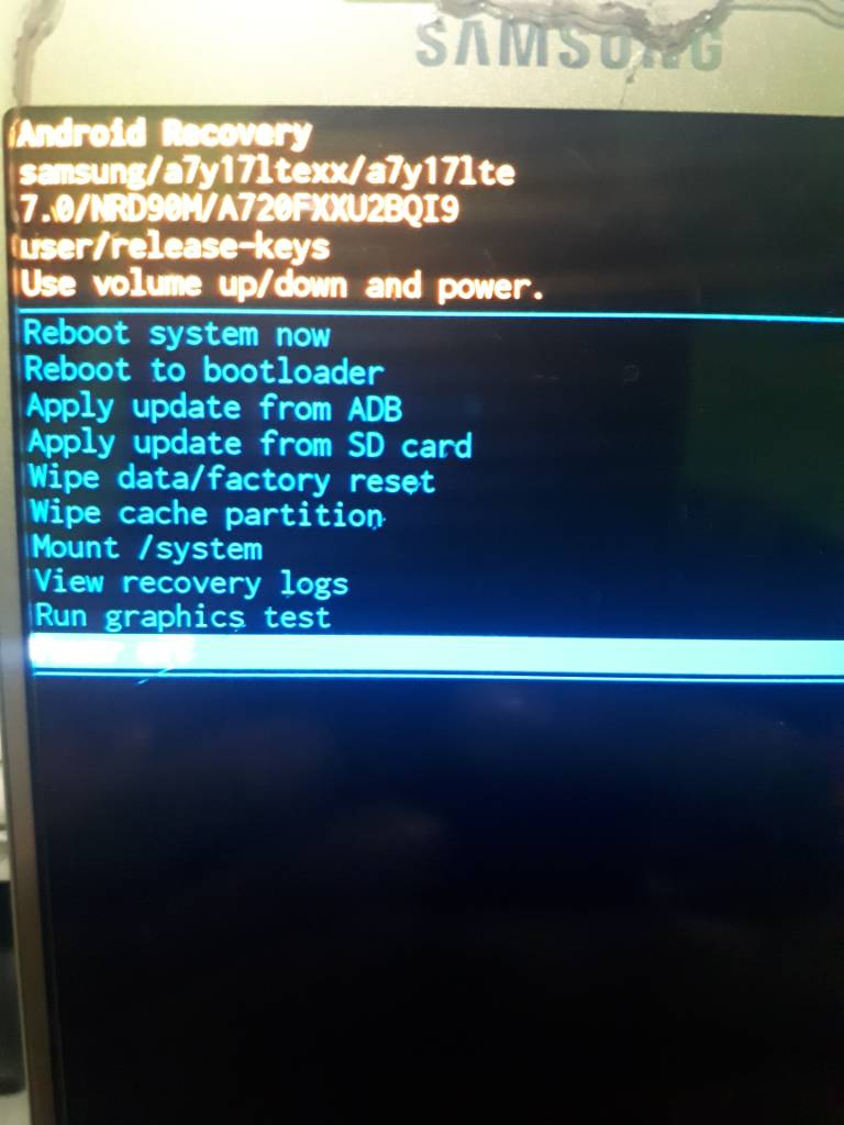 Samsung A720f binary 2 Need combination file [Solved]