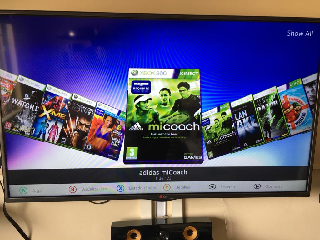 Xbox 360 Rgh Hdd 1 Tb Con Juegos Aurora
