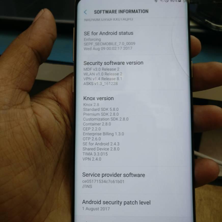 Samsung s8 sm-g950FD frp solution needed