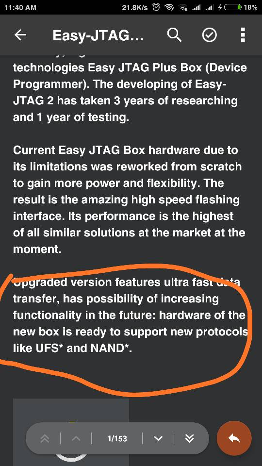 Easy J-Tag plus Now support UFS chip? - GSM-Forum
