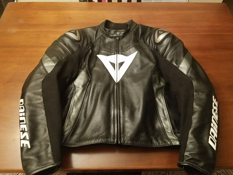 For Sale Dainese Leather Jacket, 58 Euro - PNW Moto