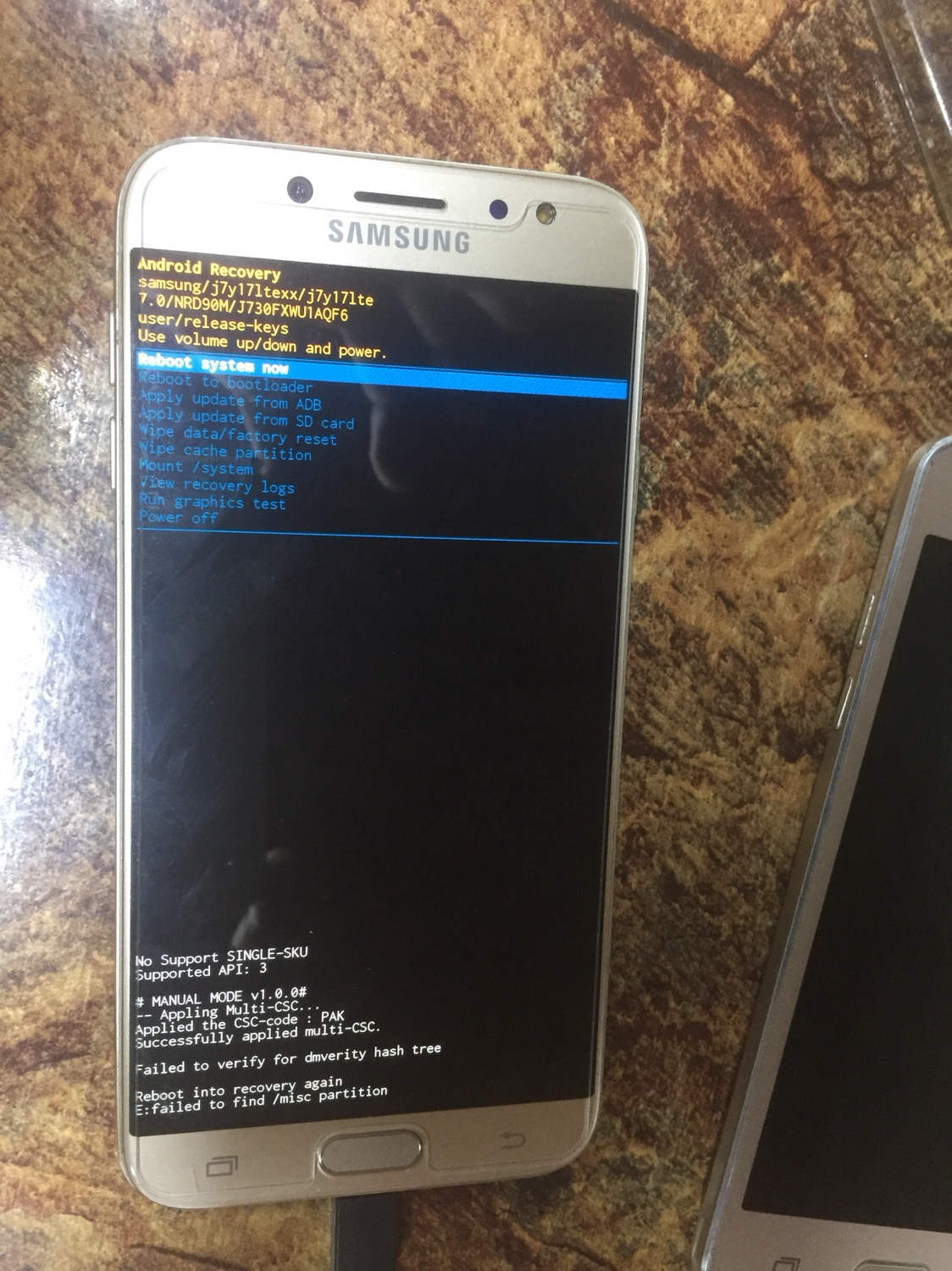 How I can solve this problem with Samsung SM-J730F? [Solved