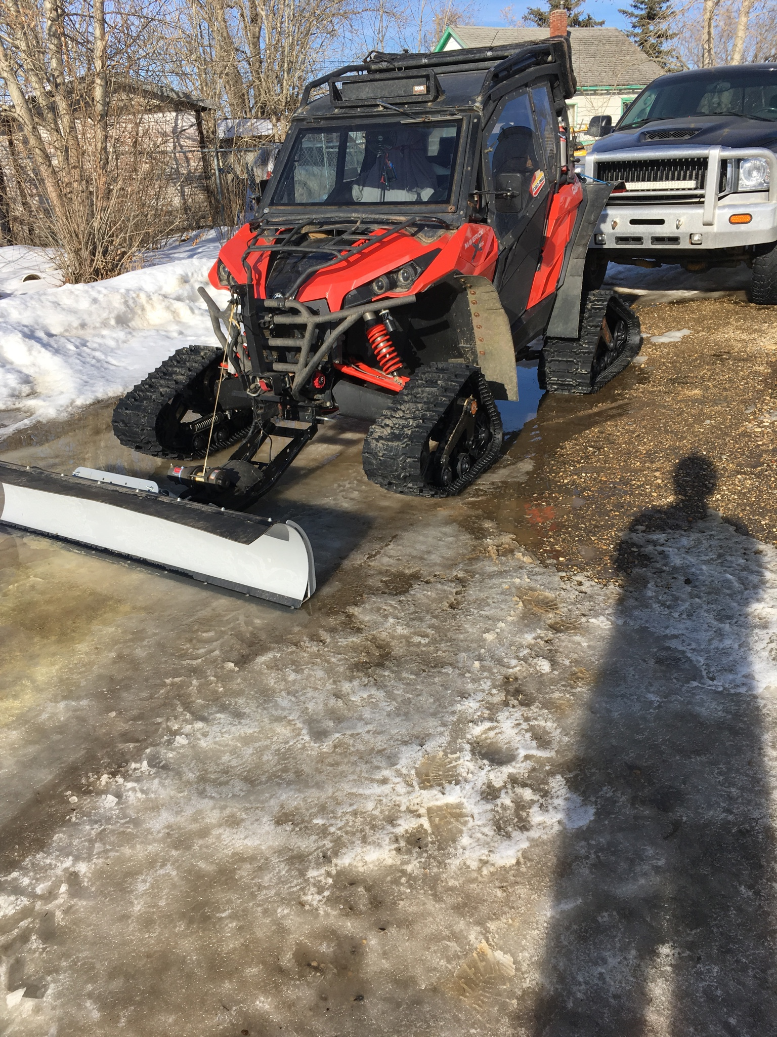 Snow Plow Page 2 Can Am Commander Forum