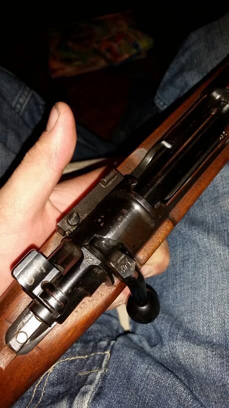 Vz 24 with potential German markings  - Surplus Rifle Forum - www