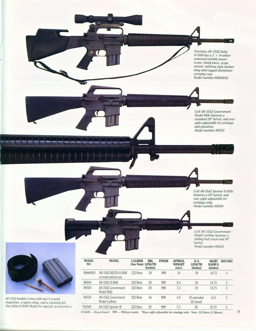 Colt Ar 15 A2 Delta Elite