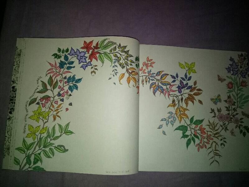 El Jardin Secreto Johanna Basford Pagina 2 Abrete Libro