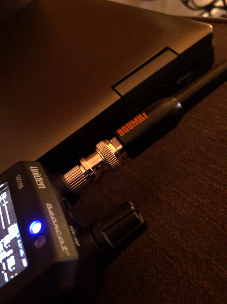 SDS100: SDS-100 & RS 800Mhz Antenna = Perfect - The