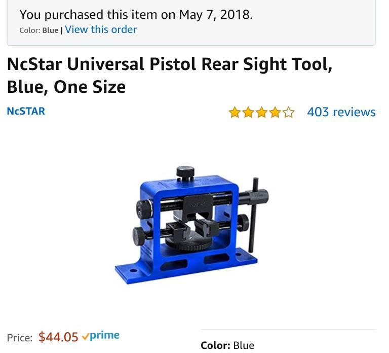 Epj Sight Pusher Tool