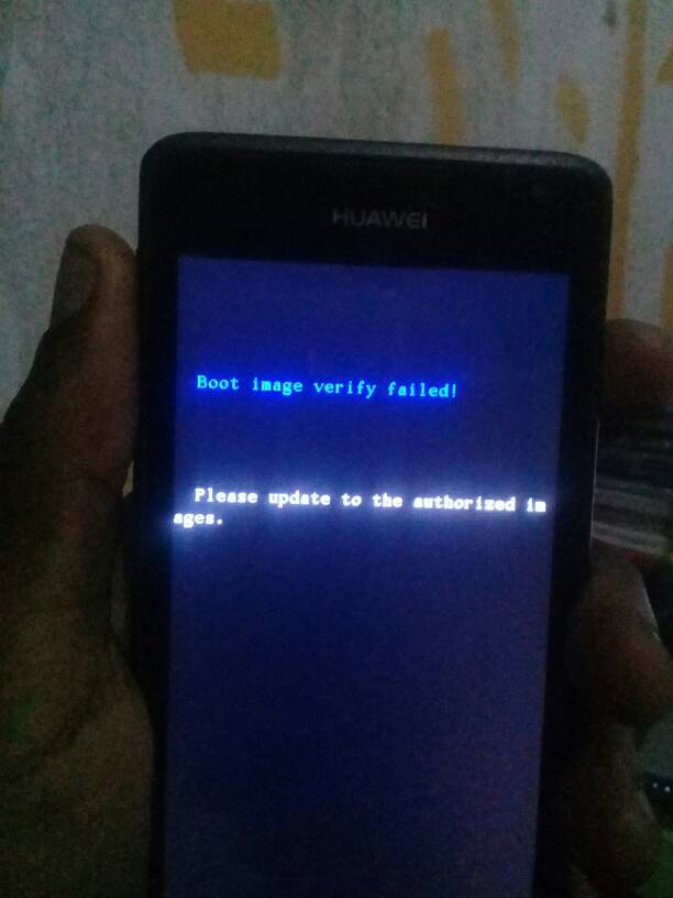 Huawei y530 u00 problem Boot image verify failed - GSM-Forum