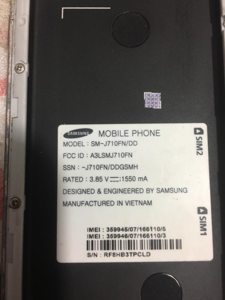 SM-J710F write firmware problem [Answered] - GSM-Forum