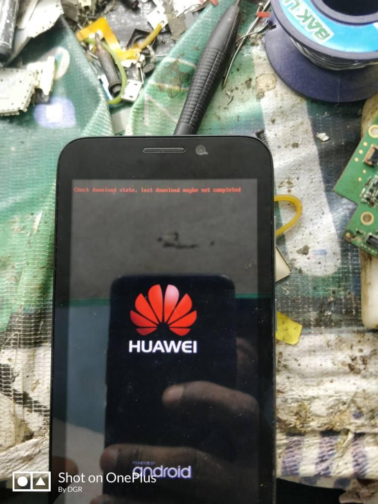 Huawei y560-u02 flash problem