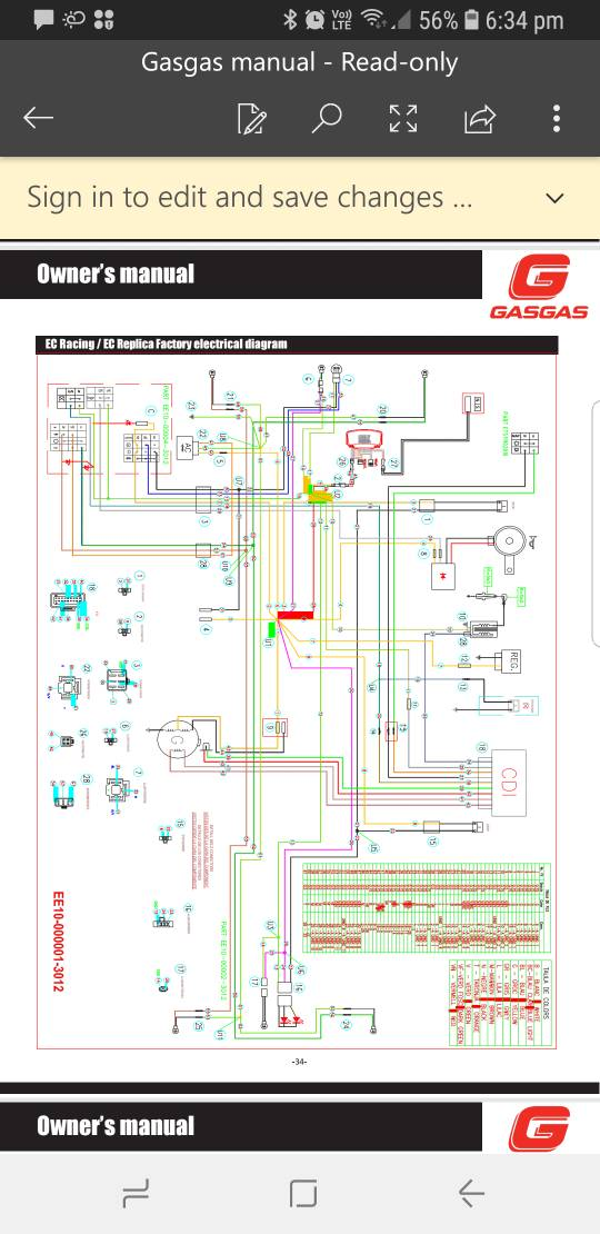 gasgas lighting problem - dbw - dirtbikeworld.net members forums 2014 yamaha fz6 wiring diagram wiring diagram 73 87 chevy truck wiring harness dirtbikeworld.net