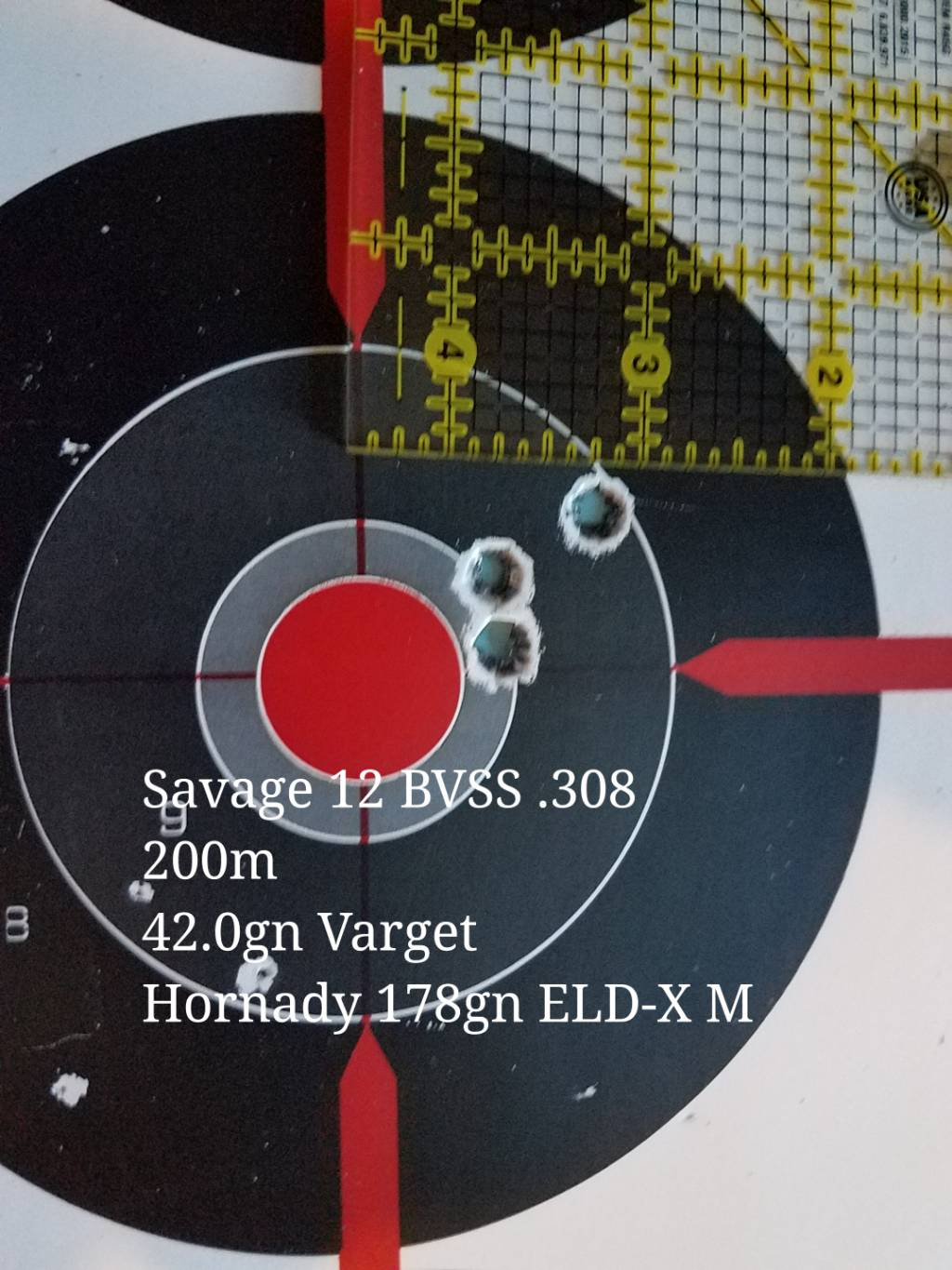 Which Savage 308 for 1000 yd?