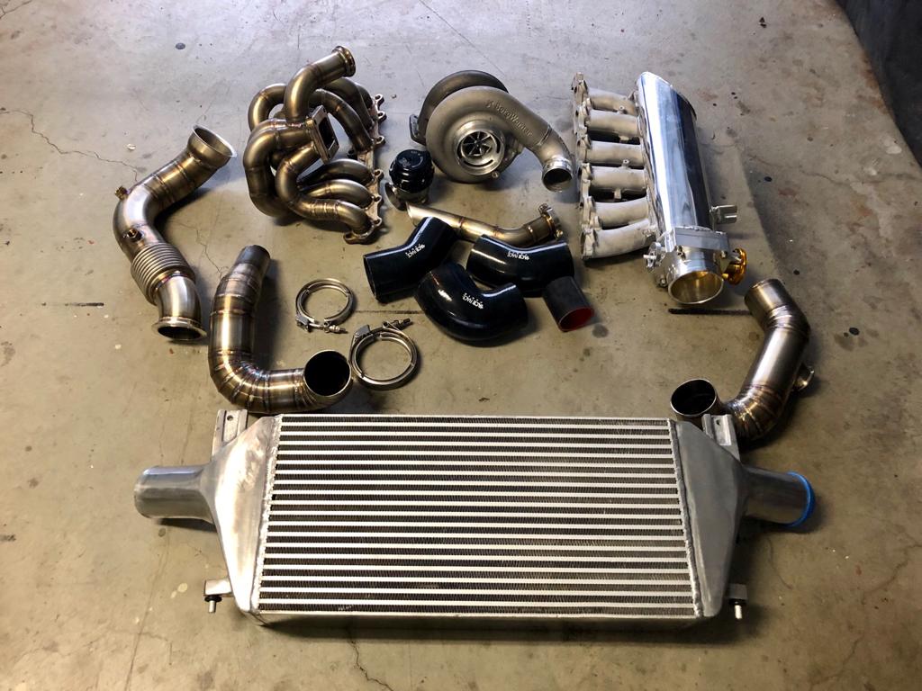 CA 2JZ Big Single Turbo Setup for S14! Everything you need