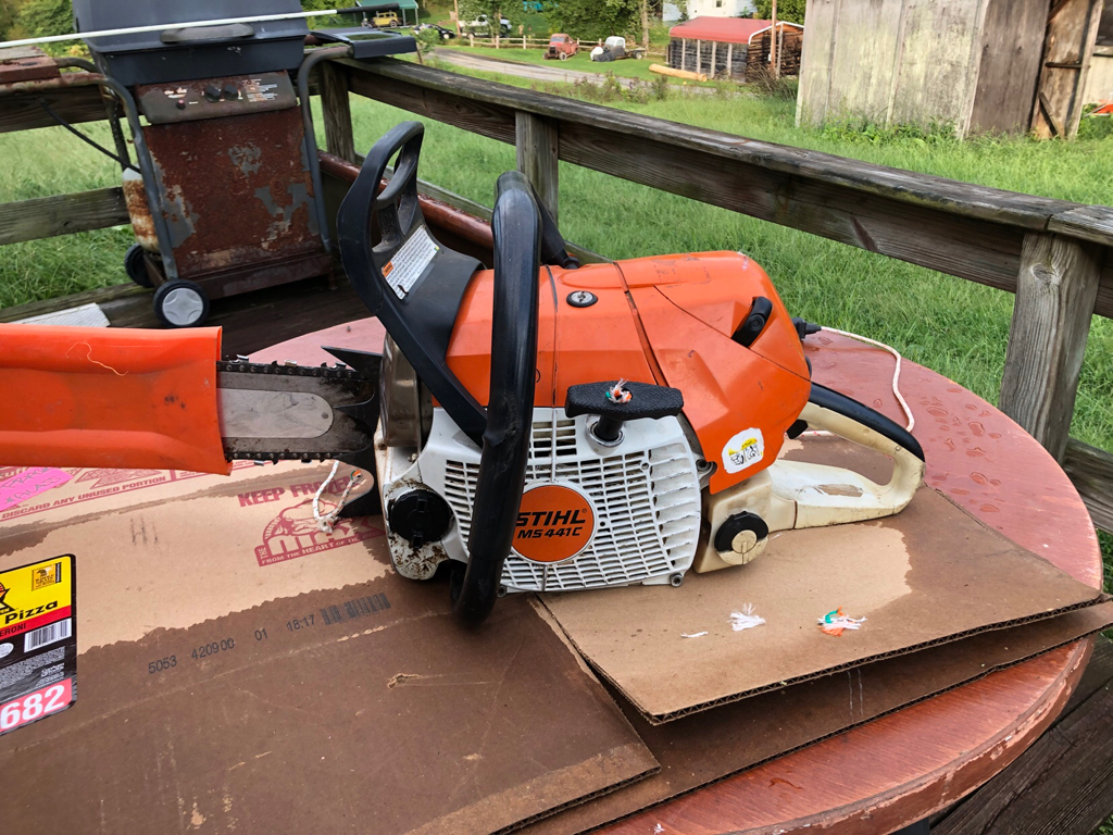selling - stihl 441 cm | outdoor power equipment forum