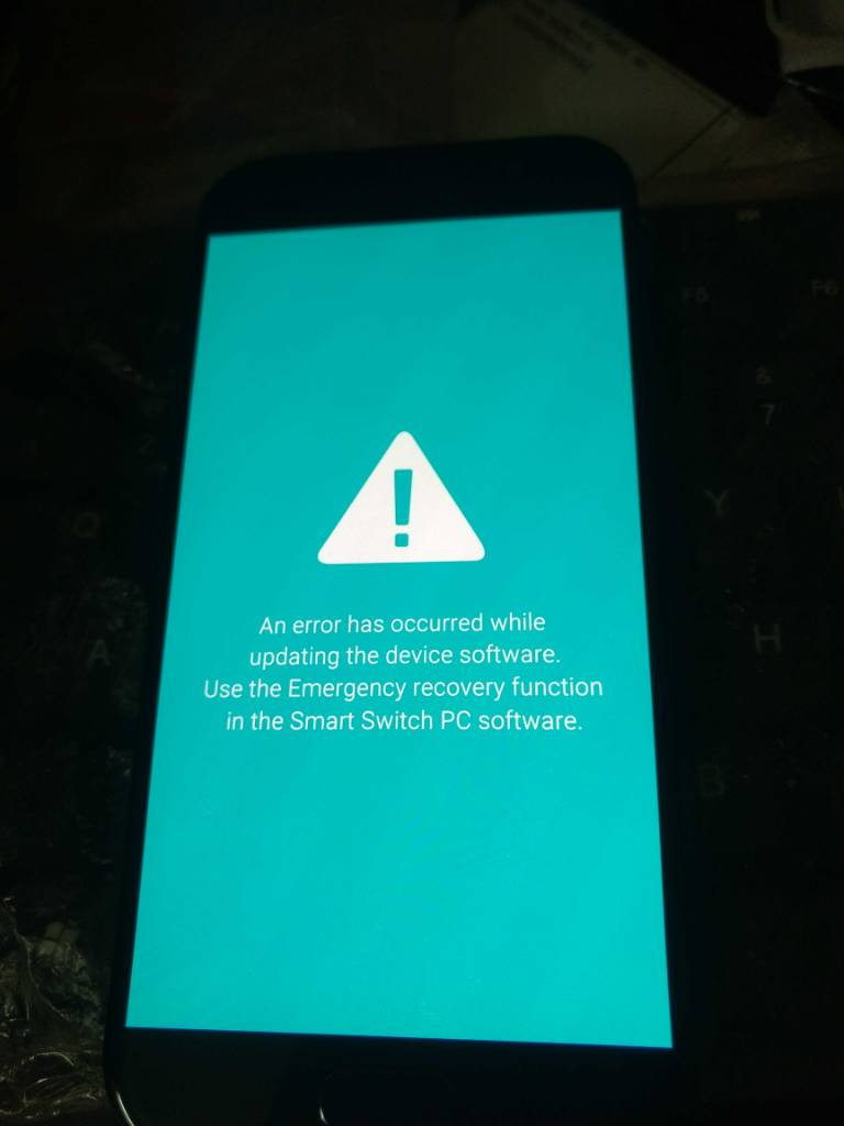 Samsung A520F SW Rev check fail device binary 4
