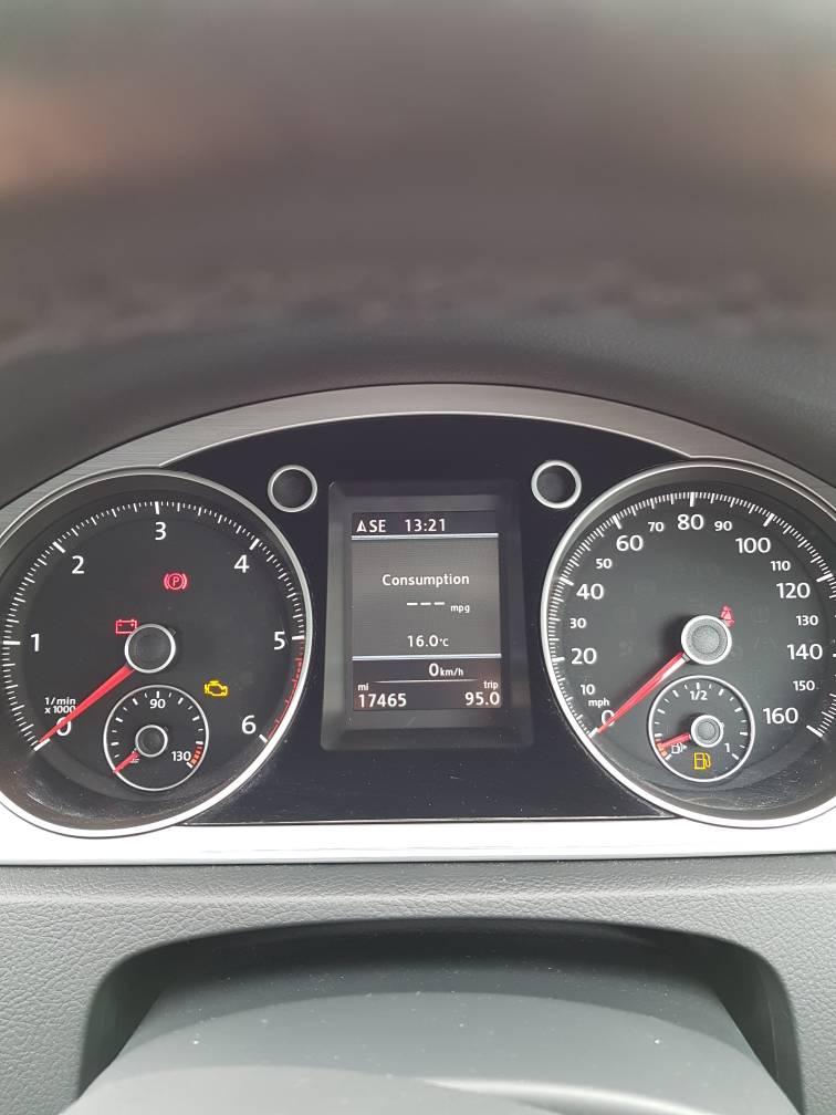 B7 digital display mph reading in kph