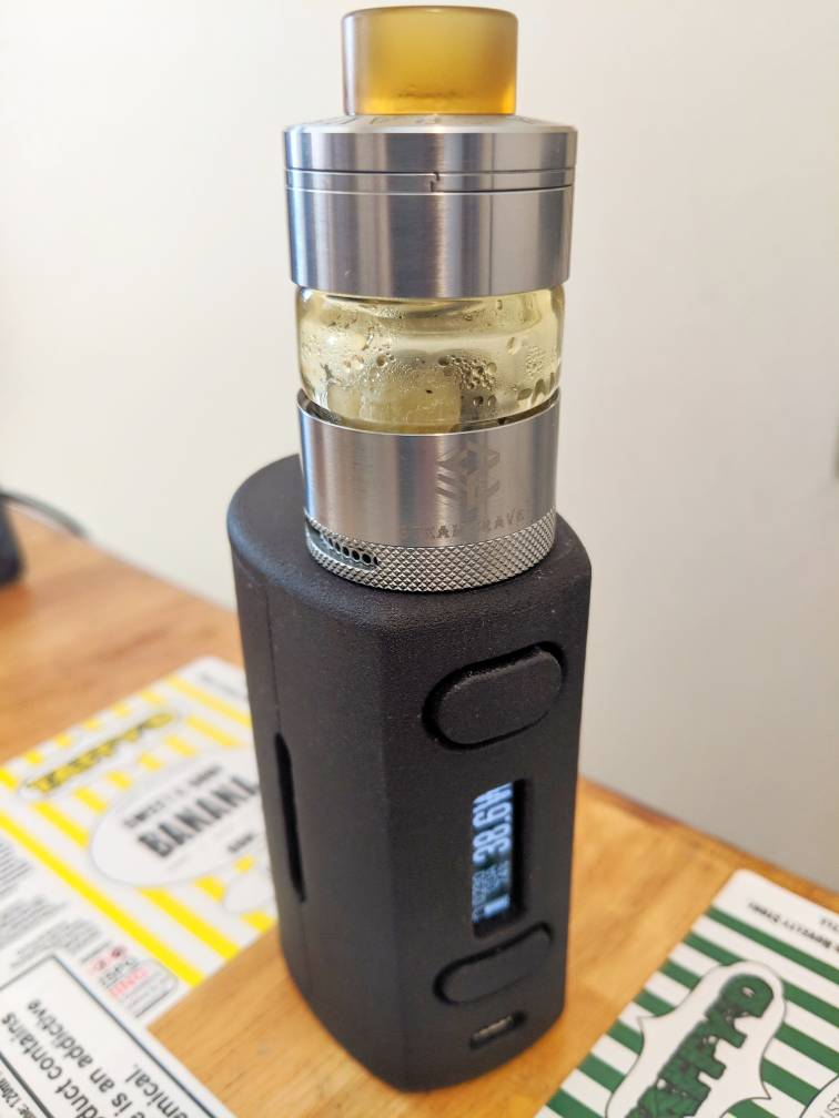 Steam Crave Glaz 31mm RTA review by Mjag | Vaping
