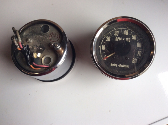 Ironhead Sportster tachometer wiring question - The ... on
