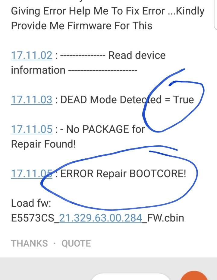 E5573CS-609 Lastest 2018 Mode Bricked After Flash - GSM-Forum