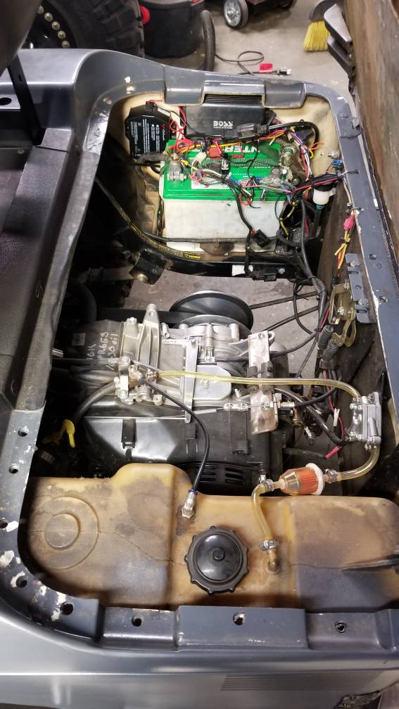 Ezgo txt gasser VC 625cc