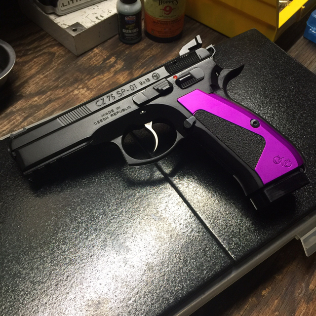 Got my SP-01 back from Cajun Gun Works! - Calguns net
