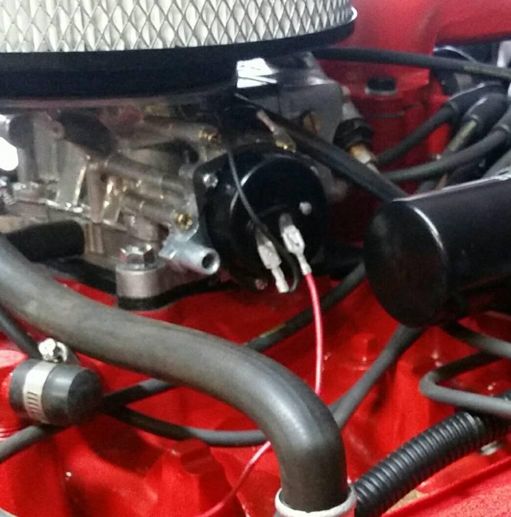 Holley 2300 Electronic Choke Wiring | BinderPlanet on