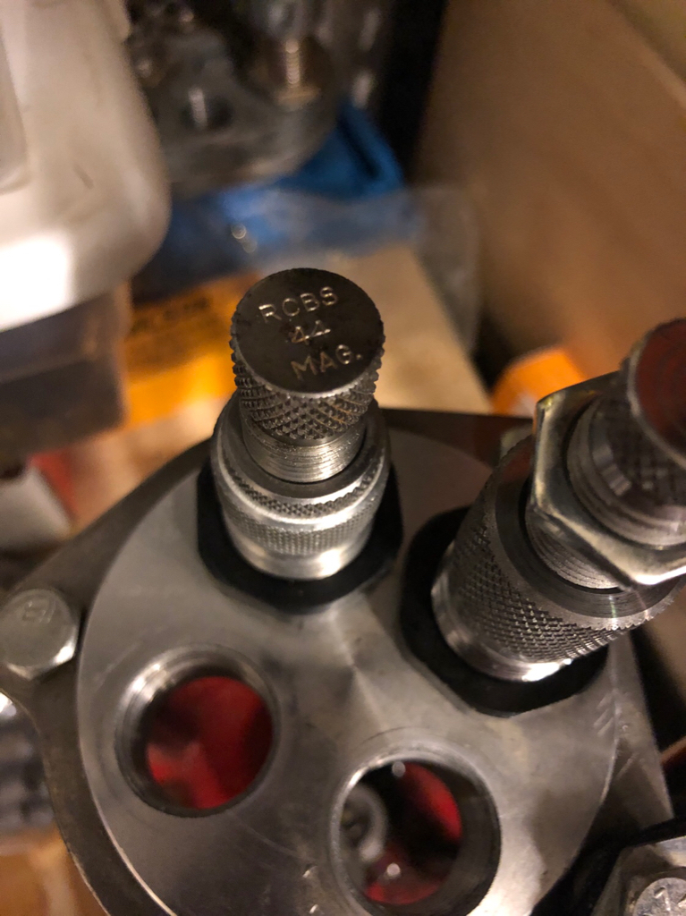 RCBS  44mag sizing & decapping die issue