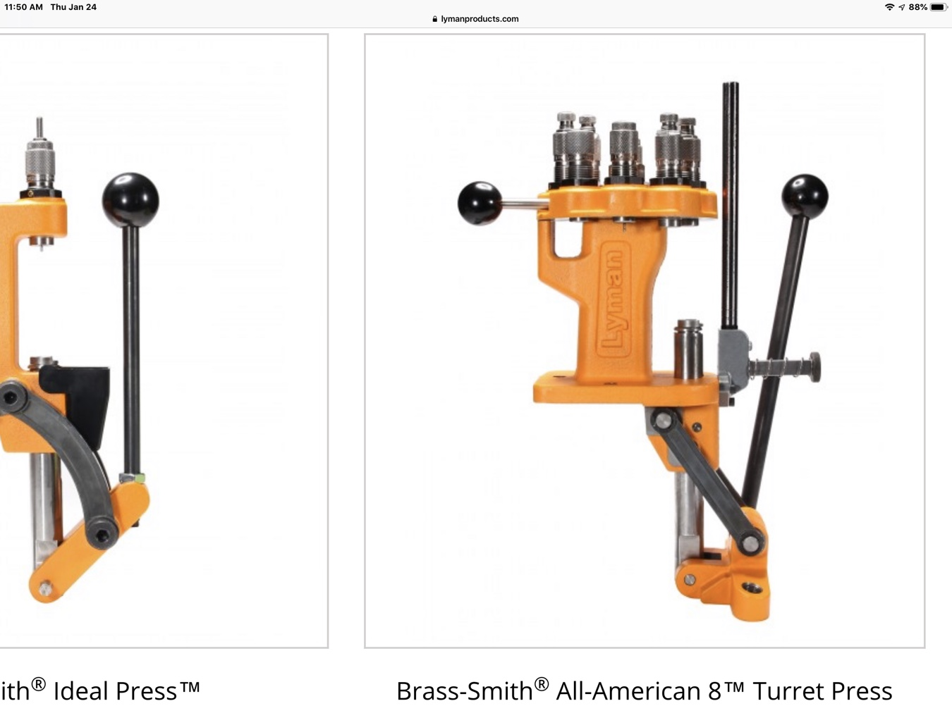 Redding T7 vs Lyman All American turret press