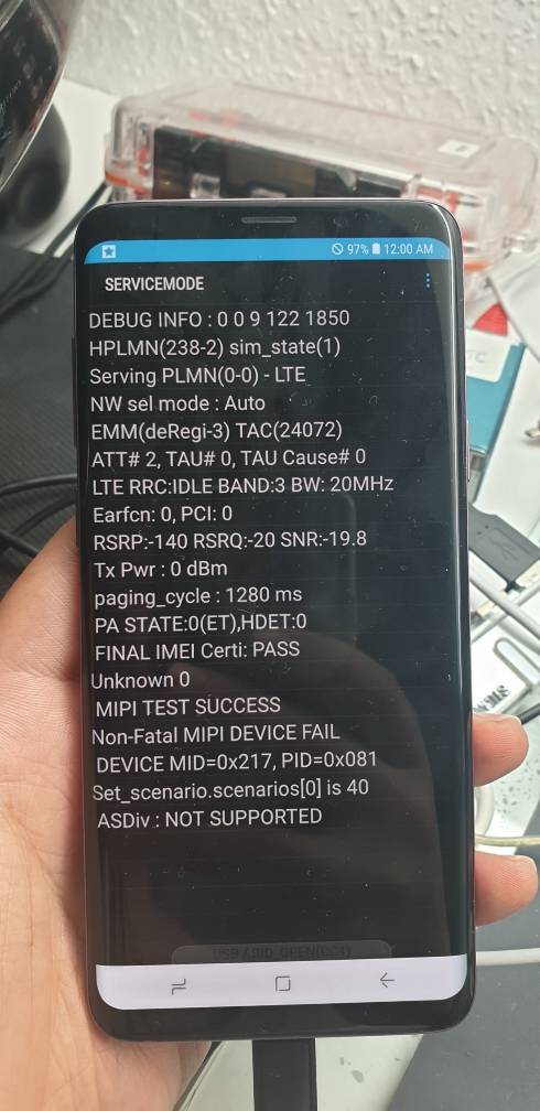 Help ! G965u at&t unlock (mobile network not available) - GSM-Forum