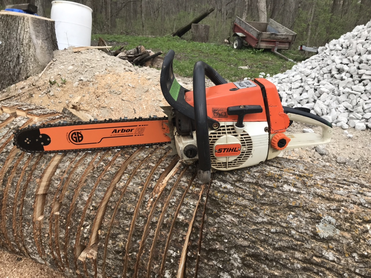 SELLING - Stihl 026 - heated handles $350obo | Outdoor Power