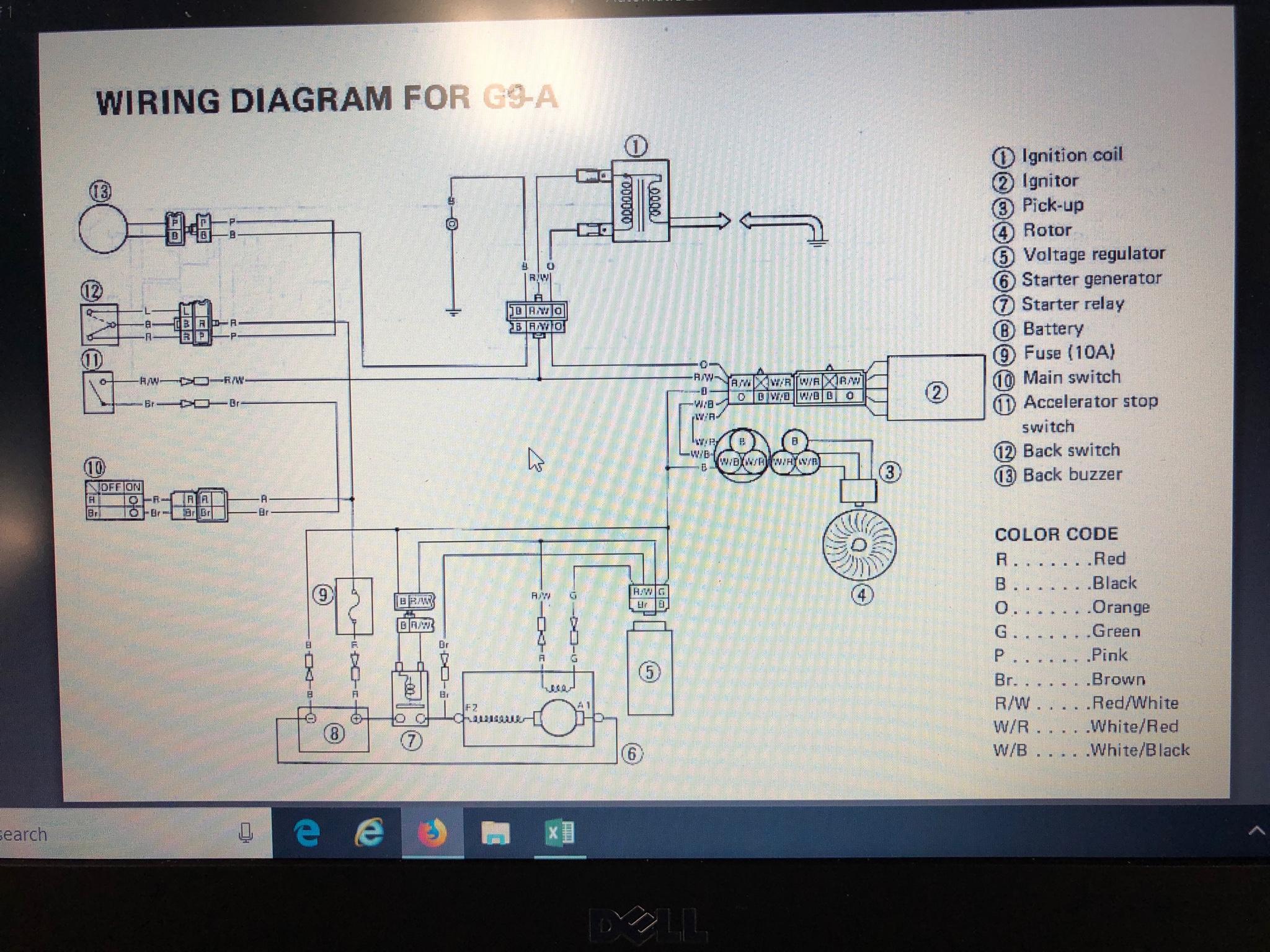 Yamaha G8a Wiring Diagram | Wiring Diagram on yamaha golf cart repair manual, yamaha golf cars, yamaha motorcycle wiring diagrams, yamaha xs650 wiring-diagram, yamaha ydre wiring-diagram, yamaha golf cart serial number, yamaha wiring-diagram g29, yamaha parts diagram, yamaha g1 golf cart, golf cart electrical system diagram, club car wiring diagram, yamaha g9 golf cart, yamaha electric golf cart, yamaha g2 golf cart, yamaha marine part 703-82563-02, yamaha golf cart generator, yamaha golf cart parts, yamaha golf cart turn signals, yamaha g9 wiring-diagram, yamaha golf cart wheels,