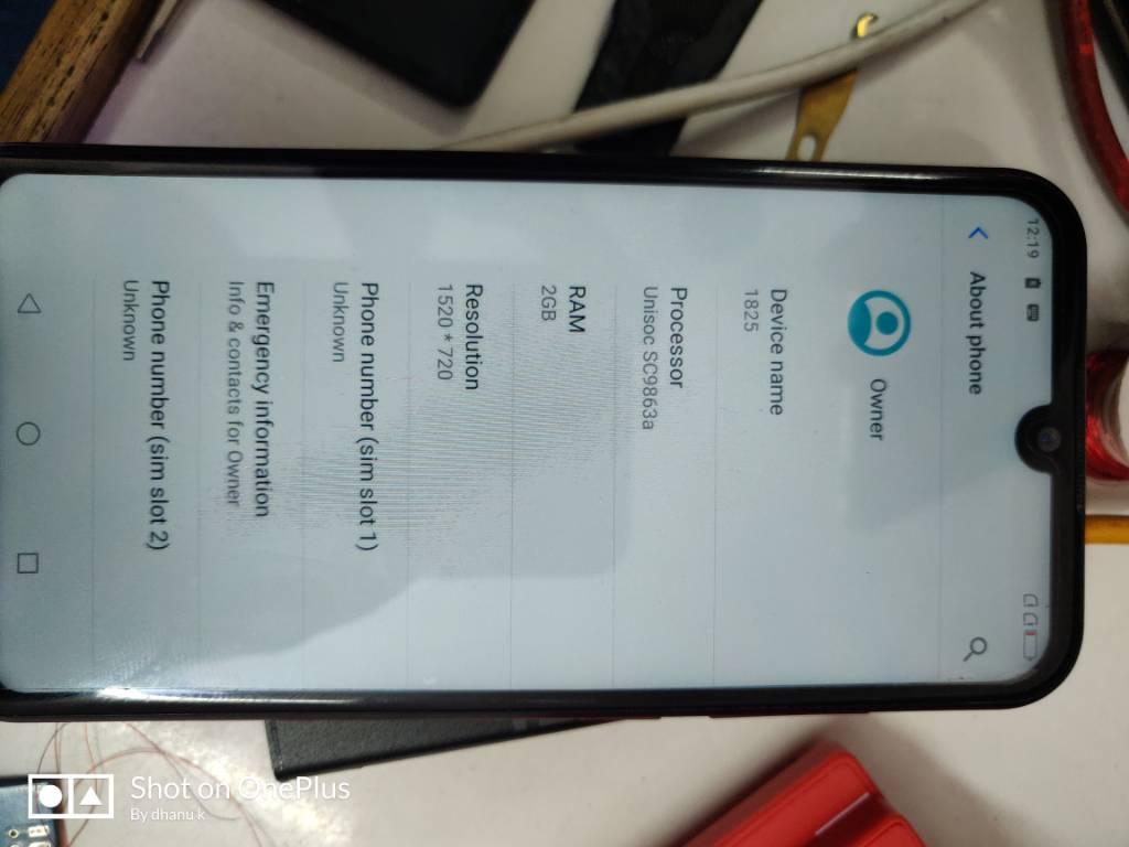 Coolpad cool 3 (1825) hang on logo and frp remove done